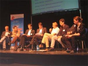 Podiumsdiskussion Fachtag web 2.0, 21.Mai 2008, Bild 1